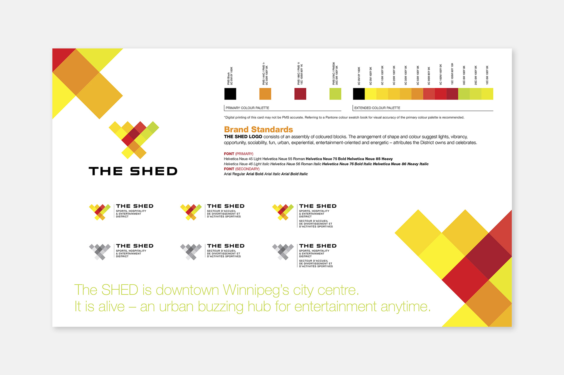 SHED Identity - Fusion – A Creative Agency
